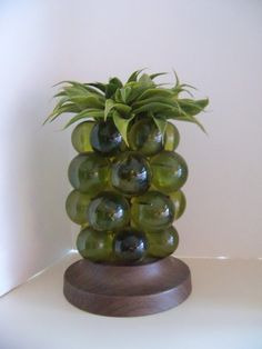 Vintage 70s Kitschy Acrylic Pineapple Lamp by KitschyKooVintage, $28.00