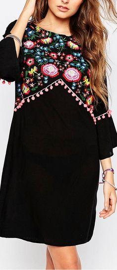 folk embroidery dress                                                                                                                                                                                 More