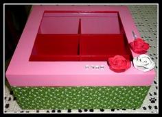 caixa de biju by Simo www.criandoeinovando.elo7.com.br, via Flickr