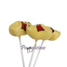 Inspiration (no recipe): klompen (clogs) cake pops.