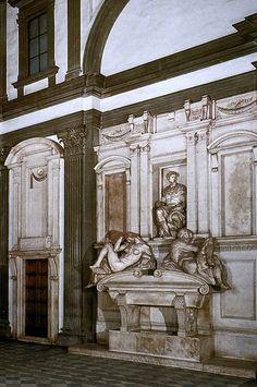 Michelangelo.Giuliano de Medici.tomb.1521-1532