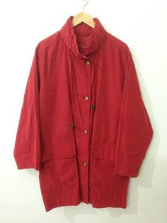 Aquascutum Long Jacket Coat Aquascutum Of London Zip And Button Size m - Light Jackets for Sale - Grailed