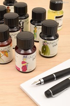 Waterproof and lightfast Rohrer & Klingner sketchINKs are made with natural colorants.