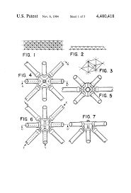 - Modular system for space grid structures Space Truss, Space Frame, Patent Drawing, Steel Structure, Building Design, Compass Tattoo, Architecture, Carrera, 3d
