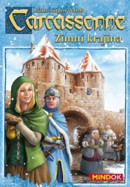 Carcassonne: Winter Edition, Z-Man Games, 2013 Man Games, Games To Play, The Expanse, Board Games, Baseball Cards, Winter, Fictional Characters, Gift List, Knights
