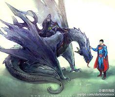 9/10/17   2:03a  DC  Dragon Rider  Bat  Meet Supe