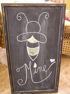 Valentine Chalkboard Greeting