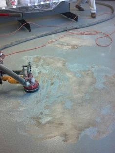 Epoxy Removal with CDC LaRue...available at Hirshfield's Fargo, West Fargo, Minot & Bismarck, North Dakota