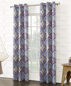 Sun Zero Castlewood Room Darkening Curtain Panel Collection - Window Treatments - For The Home - Macy's