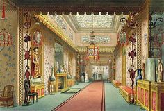 Royal Pavilion, Brighton, decorated, in an extraordinary exoticism, by Henry Holland and Frederick Grace