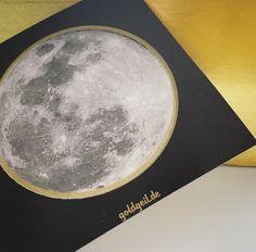 Full-Moon-Sticker / Voll-Mond-Aufkleber / 15 Stk. von goldgeil auf Etsy