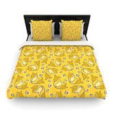 Found it at AllModern - Tulip Toss by Suzie Tremel Woven Duvet Cover