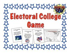 World's most popular online marketplace for original educational resources with more than four million resources available for use today. 2016 Election, Presidential Election, Electoral College Map, Map Games, Riddles To Solve, College Games, Election Results, Task Cards, Teacher Pay Teachers