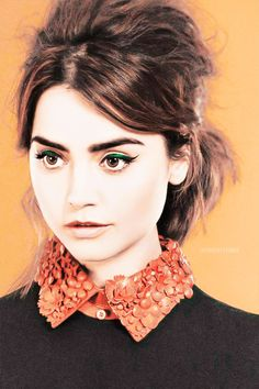Jenna Louise Coleman for InStyle UK December 2014