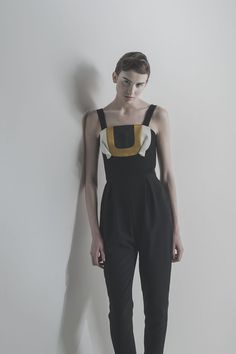 Teatree of CURVE Fashion Portfolio, Fall Winter 2015, Overalls, Normcore, Pants, Style, Trouser Pants, Swag, Women's Pants