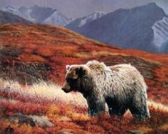 """Limited Edition Print By Charles Frace Titled: """"Alaskan Autumn"""""""