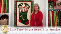 Easy Pinwheels using Star Singles | with Jennifer Bosworth of Shabby Fabrics