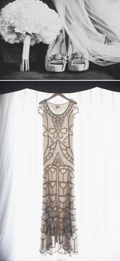 Art Deco Wedding Gown