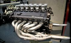 1991 Honda V12 F1 engine 3498cc 700ps 13000 rpm