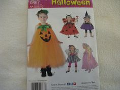 Simplicity Halloween Girls and Toddler Dress by KCDesignandBuild, $3.00