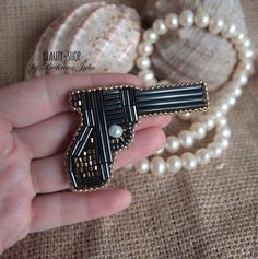 Buy or order Vintage style brooch in online shops on My Livemaster. Vintage style brooch. Size - 6 sm Hand made. My name is Julia Batirova. You can search my name in google and check all my works!