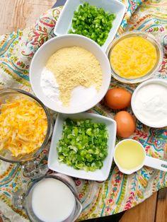 South Your Mouth: Navajo Cornbread Savory Cornbread Recipe, Cornbread Salad Recipes, Biscuit Recipe, Bean Recipes, Soup Recipes, Recipies, Easy Cooking, Cooking Recipes, Boricua Recipes