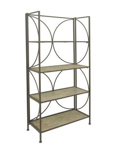 Geometric Shelving Unit by Three Hands at Gilt