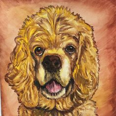 Pet portraits make great Valentina's day gifts!