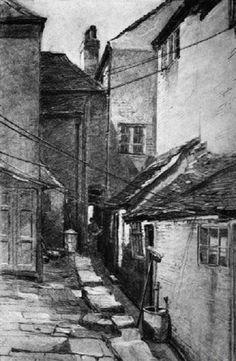 New Yard, Trinity Square, Nottingham, c 1880s - 1910s