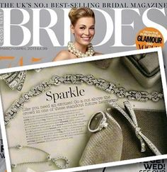 Anyone getting married this summer? Follow this month's Brides  Magazine advise and sparkle in CARAT* on your wedding day
