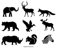 Free Vectors and Templates Archives Hirsch Silhouette, Elk Silhouette, Silhouette Painting, Animal Silhouette, Free Stencils, Stencil Templates, Art Template, Printable Stencil Patterns, Templates Printable Free
