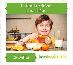 Tips nutritivos para niños.