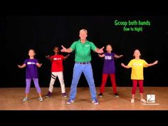 Circle of Life - >>> basic choreography for mass groups. (Slow step - touch / scoops / bursts)