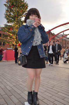 Girl Fashion, Womens Fashion, Asian Girl, Kawaii, Street Style, Pure Products, Legs, Denim, Celebrities