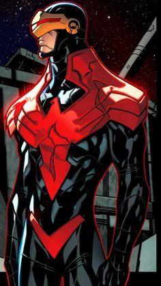 mi è sempre piaciuto ciclope. è il personaggio di xman che tra tutti ha un potere non estemamente illimitante (e una scusa per mettere gli occhiali da sole anche di notte. come i blues brothers)