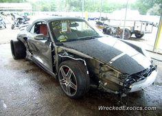Porsche 911 997 Turbo crashed in Florida