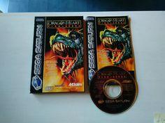 DRAGONHEART FIRE &STEEL  SEGA SATURN - RetroGames -