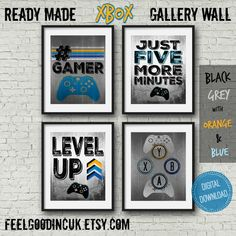 Lego Themed A4 Poster Art Prints Four Designs GREAT GIFT! Optional Frame