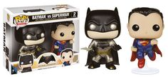 BATMAN VS SUPERMAN – METALLIC 2 PACK – FUNKO POP! VINYL FIGURE