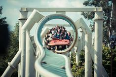 With the summer holidays fast approaching, here's our pick of the best theme parks for action-packed days out with kids of all ages. Fastest Roller Coaster, Best Roller Coasters, Thorpe Park, Days Out With Kids, Space Mountain, Cool Themes, Legoland, Greatest Adventure