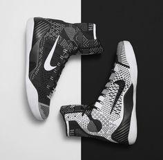 Nike Kobe 9 Elite Detail Dark Babe Grey Black
