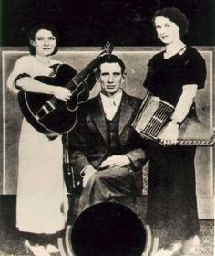 Sara Carter (banjo) and her cousin Maybelle (auto harp), about eight years before the first recordings of the Carter Family. Description from pinterest.com. I searched for this on bing.com/images