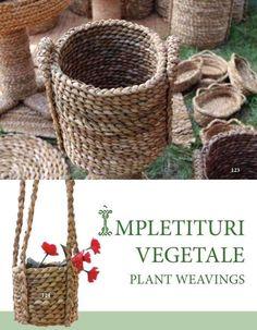 Paporniţa MOȘULUI & paporniţa lui Nea Mărin Wicker Baskets, Marines, Weaving, Decor, Decoration, Loom Weaving, Crocheting, Decorating, Knitting