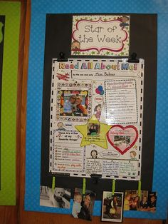 Star of the Week Display