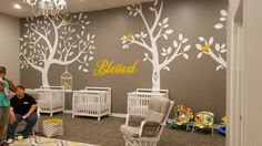 Programs and Specialties of The Top Nursing Schools in The U. Church Nursery Decor, Kids Church Decor, Kids Church Rooms, Nursery Room, Nursery Ideas, Church Decorations, Church Ideas, Baby Room, Infant Room Daycare