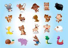 フラットデザイン 動物 キャラクター - Google 検索