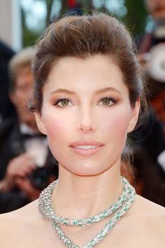 Celebrity inspired wedding makeup: Jessica Biel's natural makeup