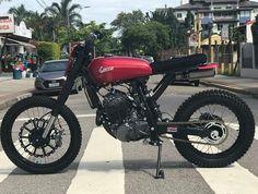 Projeto realizado para @luccacustoms nx 350 sahara. #honda #nx350 #sahara350 #scrambler #luccacustoms #salaoduasrodas #handmademotorcycle #wolfmotorcycles #bywolfmotorcycles