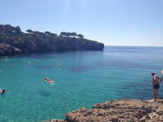 Cala Esmerelda beach and cove - Cala D'or, Majorca