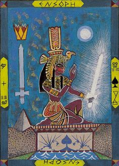 Kazanlar Tarot Queen of Swords (Isis)